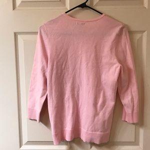 croft & barrow Sweaters - Croft & Barrow Pink Button Down Sweater Cardigan